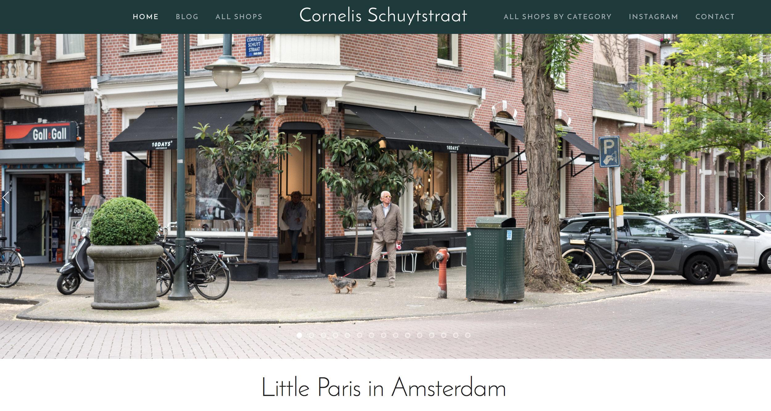 Cornelis Schuytstraat homepage