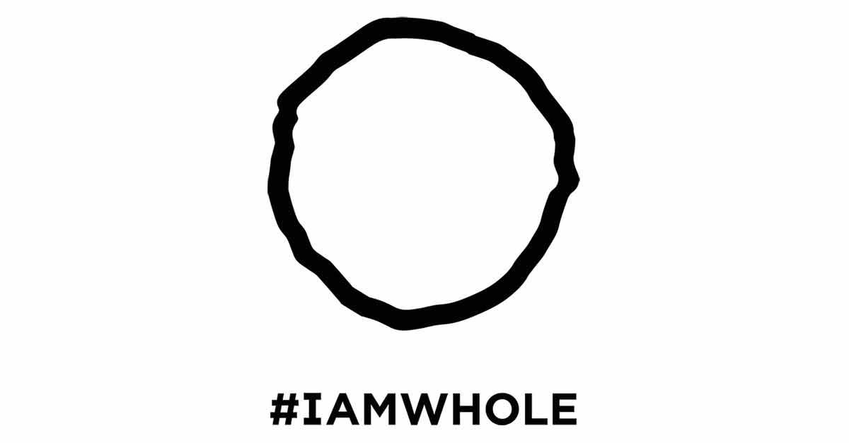 World Mental Health Day - I am Whole logo