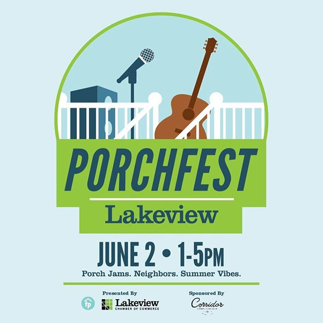 Come join us tomorrow, June 2nd, for the 1441 Wolfram Porch Lineup.  Romancoke: 4-4:45PM Two Ton Jack: 3-3:45PM Michelle Perry: 2-2:45PM . . . . . . . .  #lakeviewchamberofcommerce #chicagofestivals #chicagomusicfest #lakeviewchicago #romancoke #artistsoninstagram #band #chicagoband #chicago #guitar #happy #highfashionrockandroll #indiemusic #inspo #instamusic #liveauthentic #musicians #music #originalsound #passion #positivevibes #purpose #rockandroll #songwriter