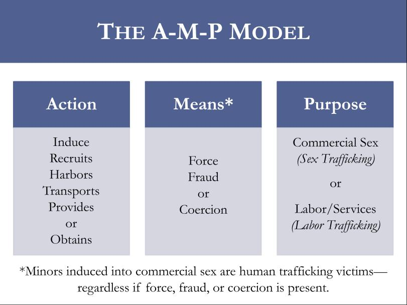 "POLARIS PROJECT, ""a-m-p mODEL"" https://humantraffickinghotline.org/sites/default/files/AMP%20Model.pdf"
