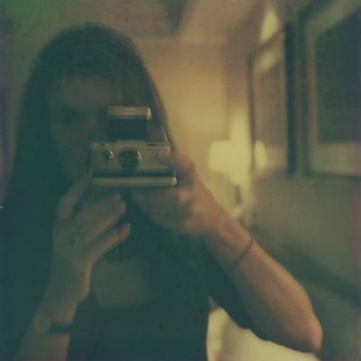 Taylor Smith artist self-portrait Polaroid SX-70 expired film.jpg