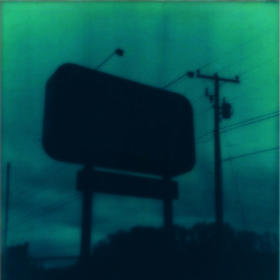 Polaroid expired film SX-70 abandonded highway sign Taylor Smith Studio.jpg