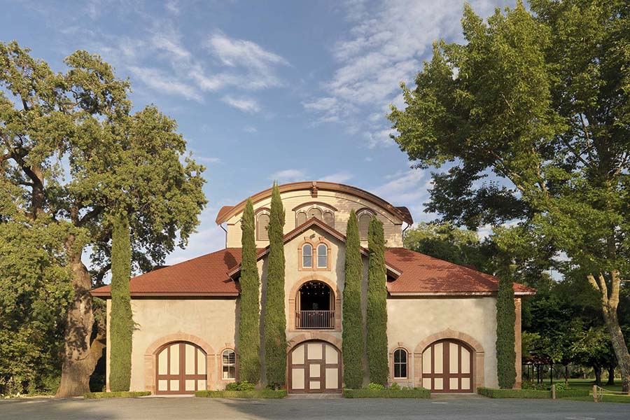 The Charles Krug Winery Carriage House features many artworks by Taylor Smith