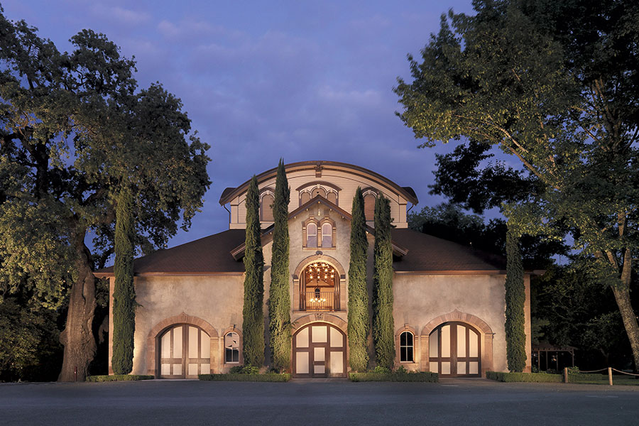 Charles Krug Winery Carriage House in Napa Valley houses artworks by Taylor Smith