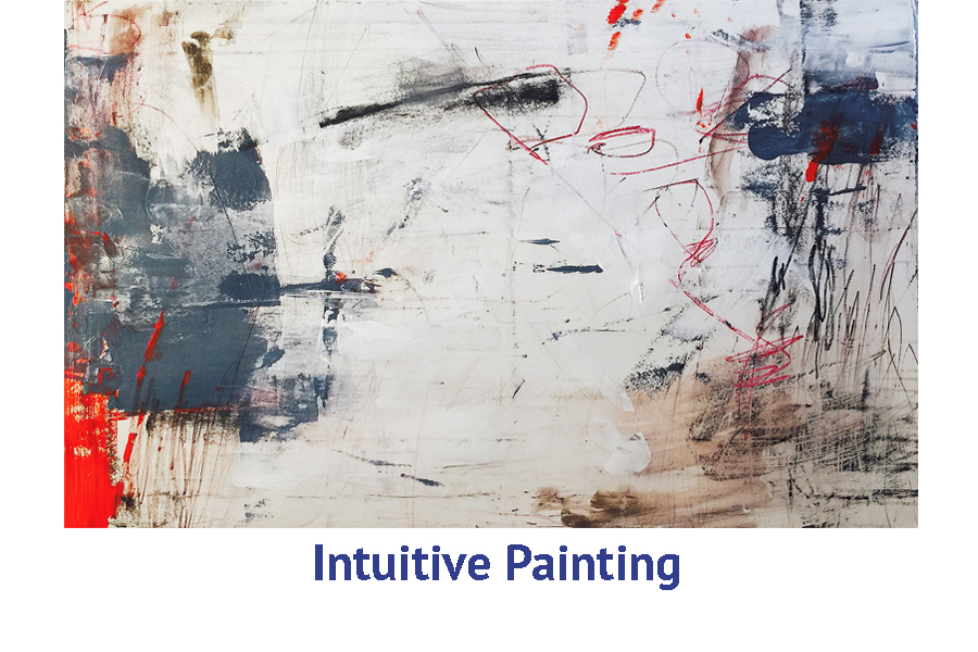 Intuitive Painting artist travel workshops