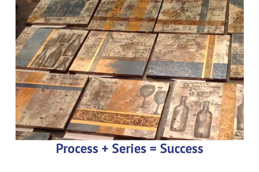 Process + Series = Success art travel workshop