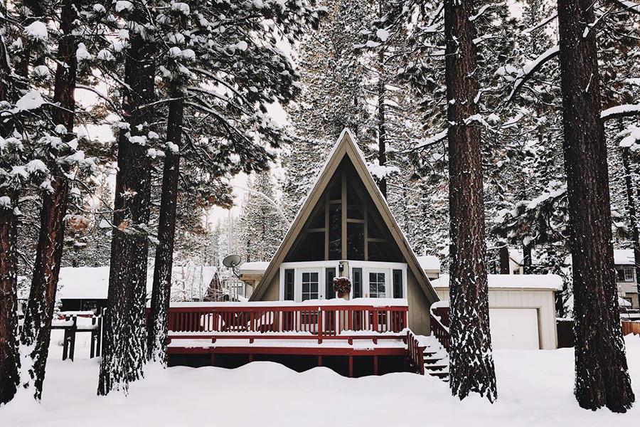 A-Frame Cabin Snow fight climate change through art.jpg
