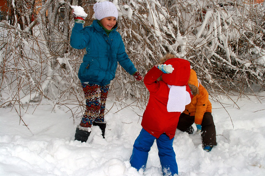 kids play in snow protect winter fight climate change.jpg