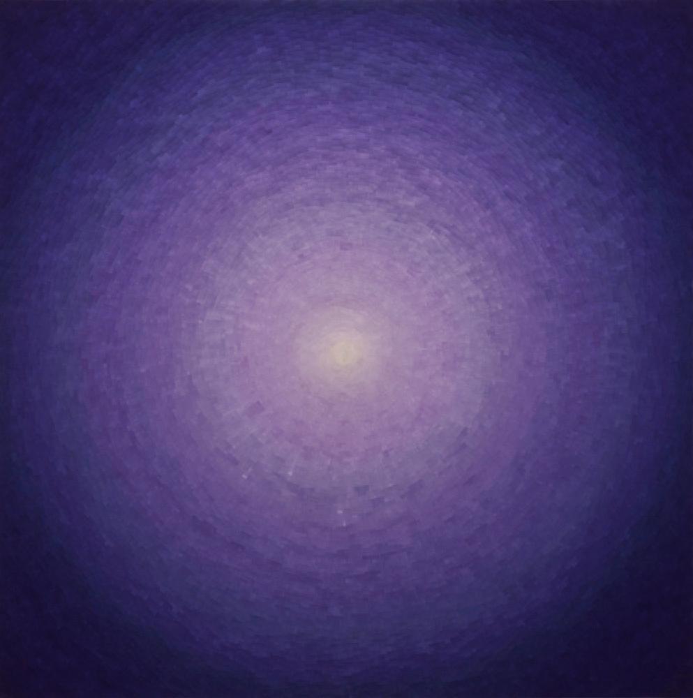 Scale XXXIII Sphere V 2011 resin & mixed media 42x42x3.png