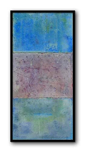 East Seas Oil Pastel on Canvas 10 x 30 1999.jpg