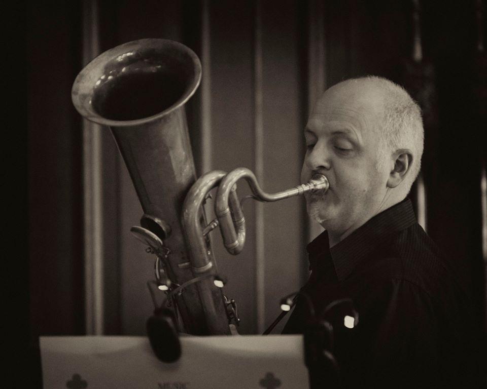Jeff Miller - The Prince Regent's Band at Hampton Court (photo Daniel Serafini)