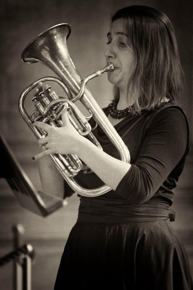 Anneke Scott - The Prince Regent's Band at Hampton Court (photo Daniel Serafini)