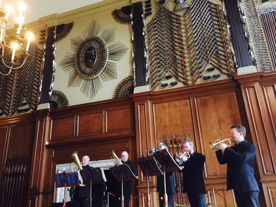 The Prince Regent's Band at Hampton Court