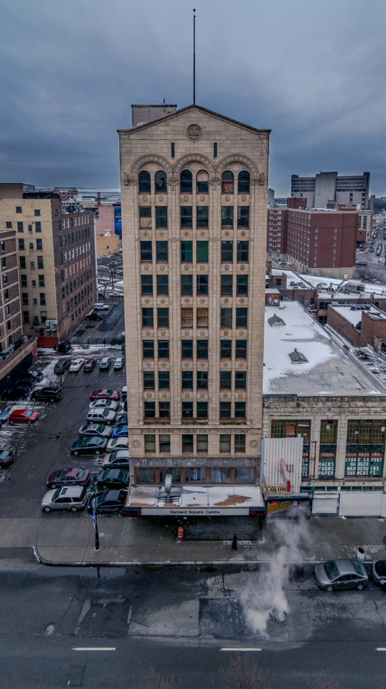 Photo of Harvard Square Center by Eric Hergenreder
