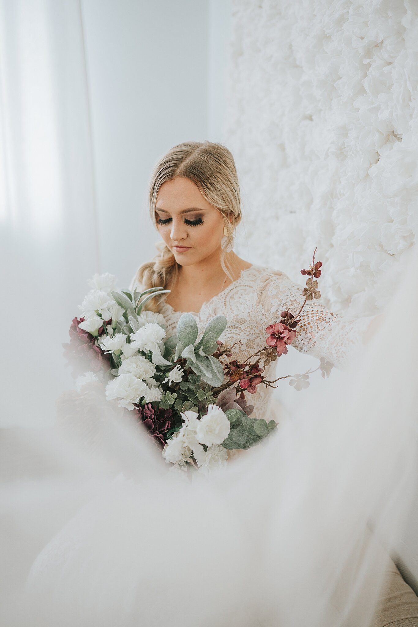 lace-wedding-gown-braid-bridal-hairstyle-knoxville-bride-look-for-the-light-photo-video