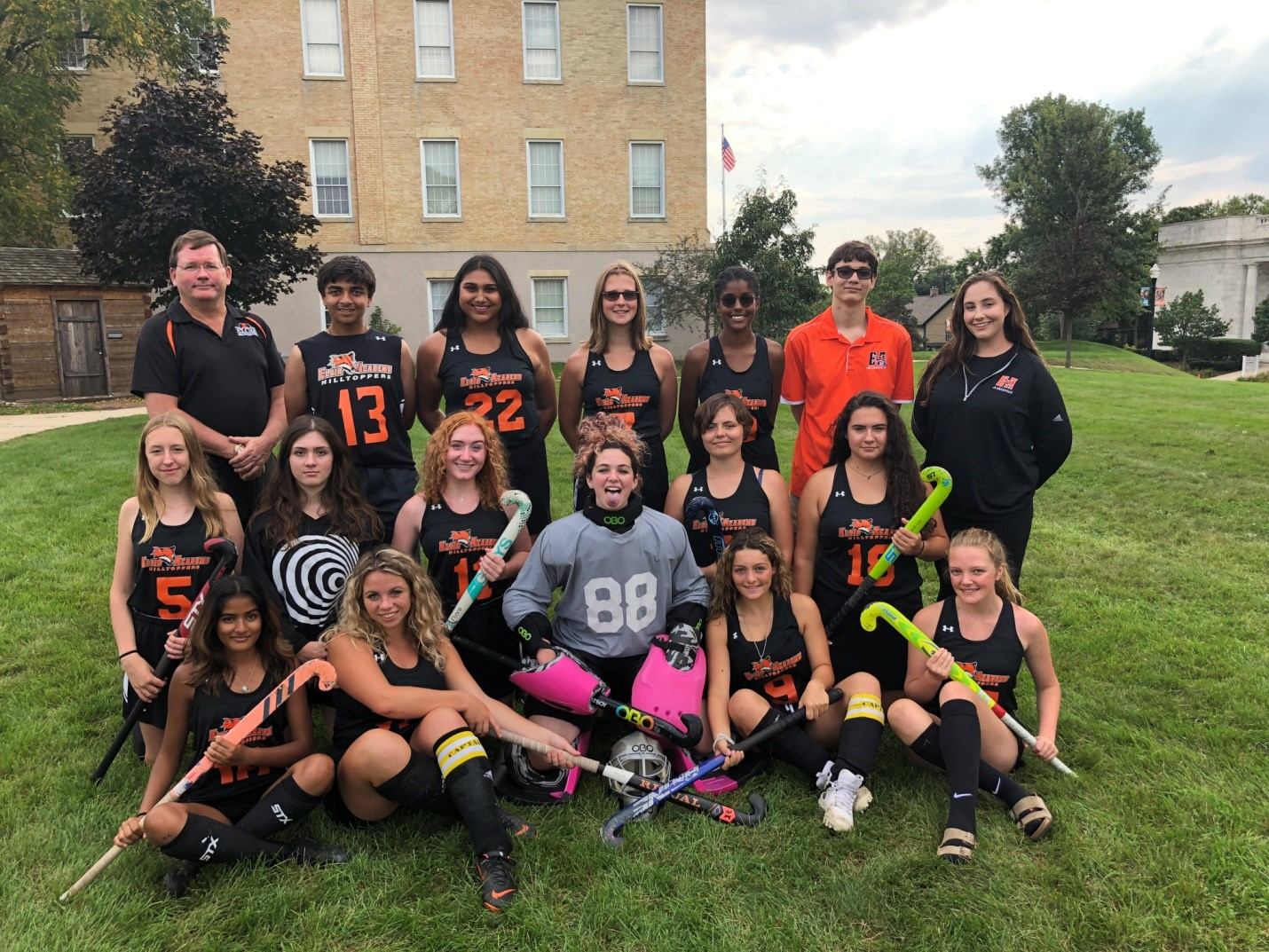 2018 Elgin Academy Varsity Field Hockey