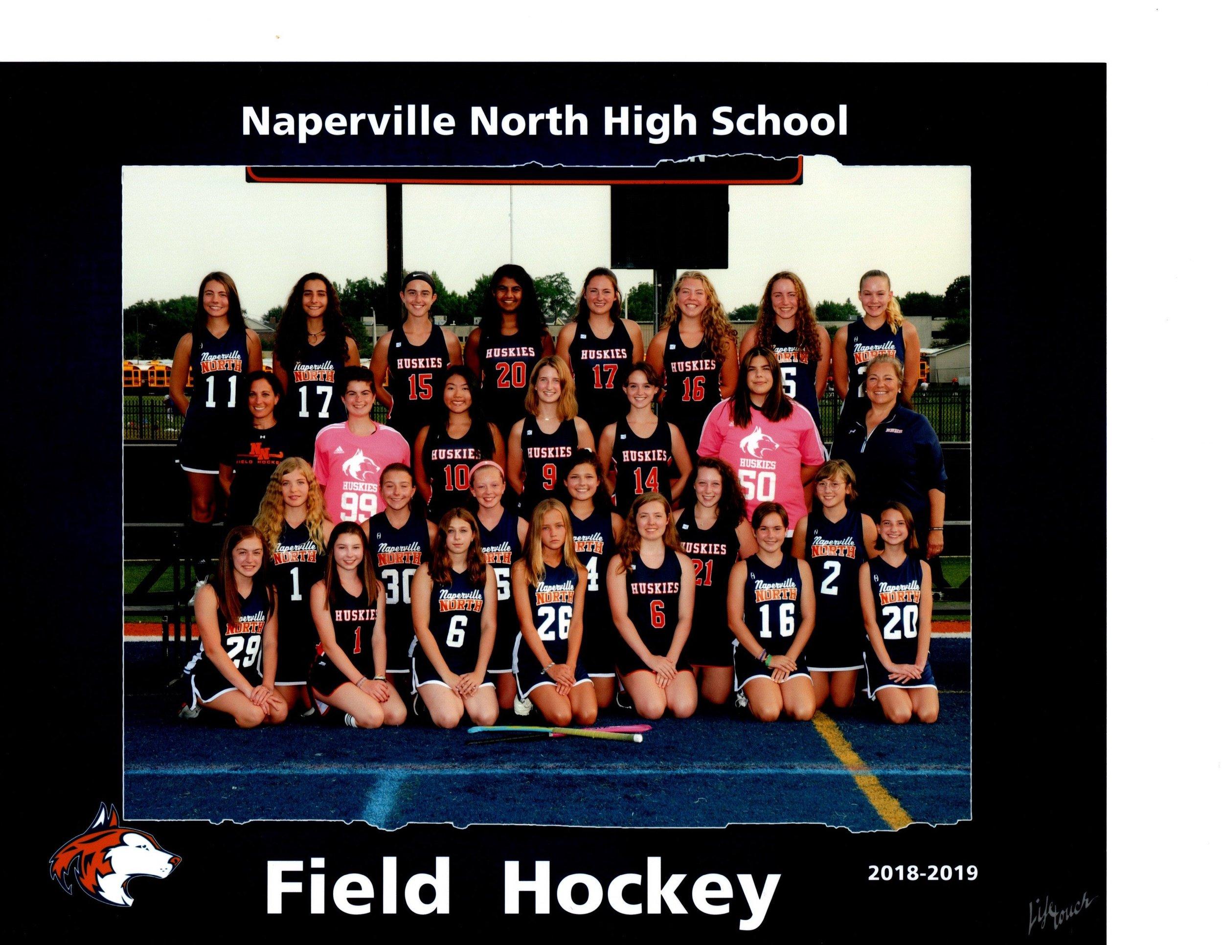 2018 Naperville North Varsity Team