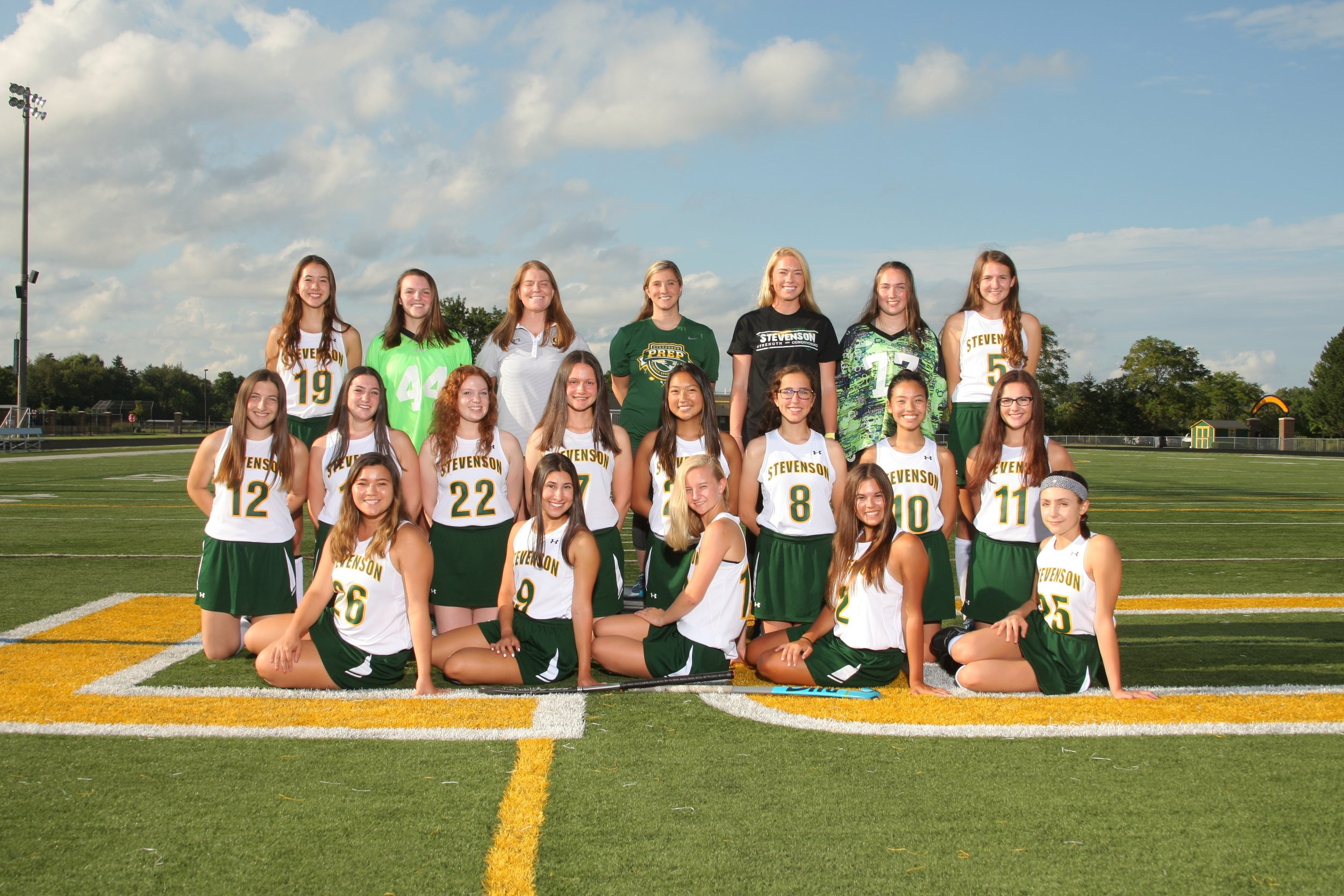 2018 STEVENSON HIGH SCHOOL VARSITY FIELD HOCKEY TEAM