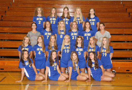 2019 LAKE FOREST HIGH SCHOOL VARSITY FIELD HOCKEY TEAM