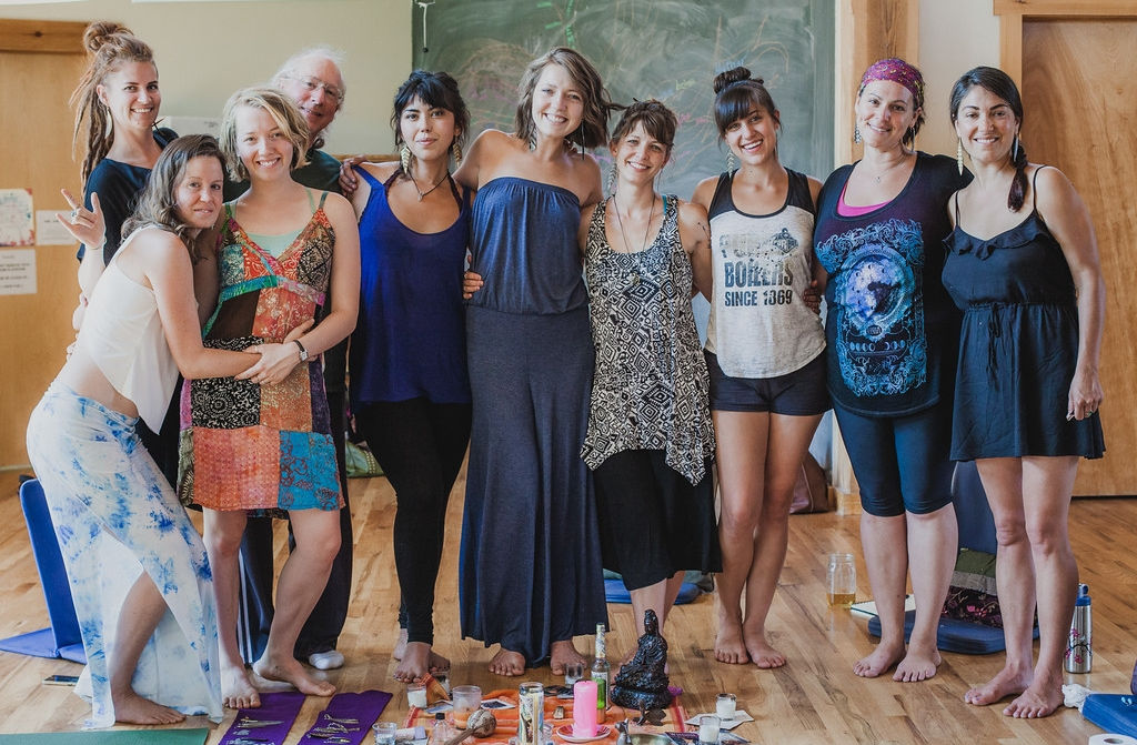 Awaken The Dance teachers : From L to R, Sarah Currier, Emily Oba Waldeck, Ana Camille van Heukelom, Andy Oriel, Olivia Broughton, Hannah Kinderlehrer, Raquel Alexandra, Andrea Stout, Heather Forrest, Brooke Laura Photo by  Dasha Gaian