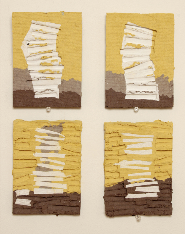"""Pulp Drawings (yellow sky)"" 2008"