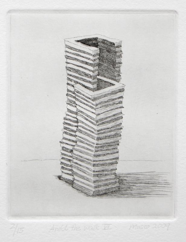 """""""Amid the Walls VI"""" 2009"""