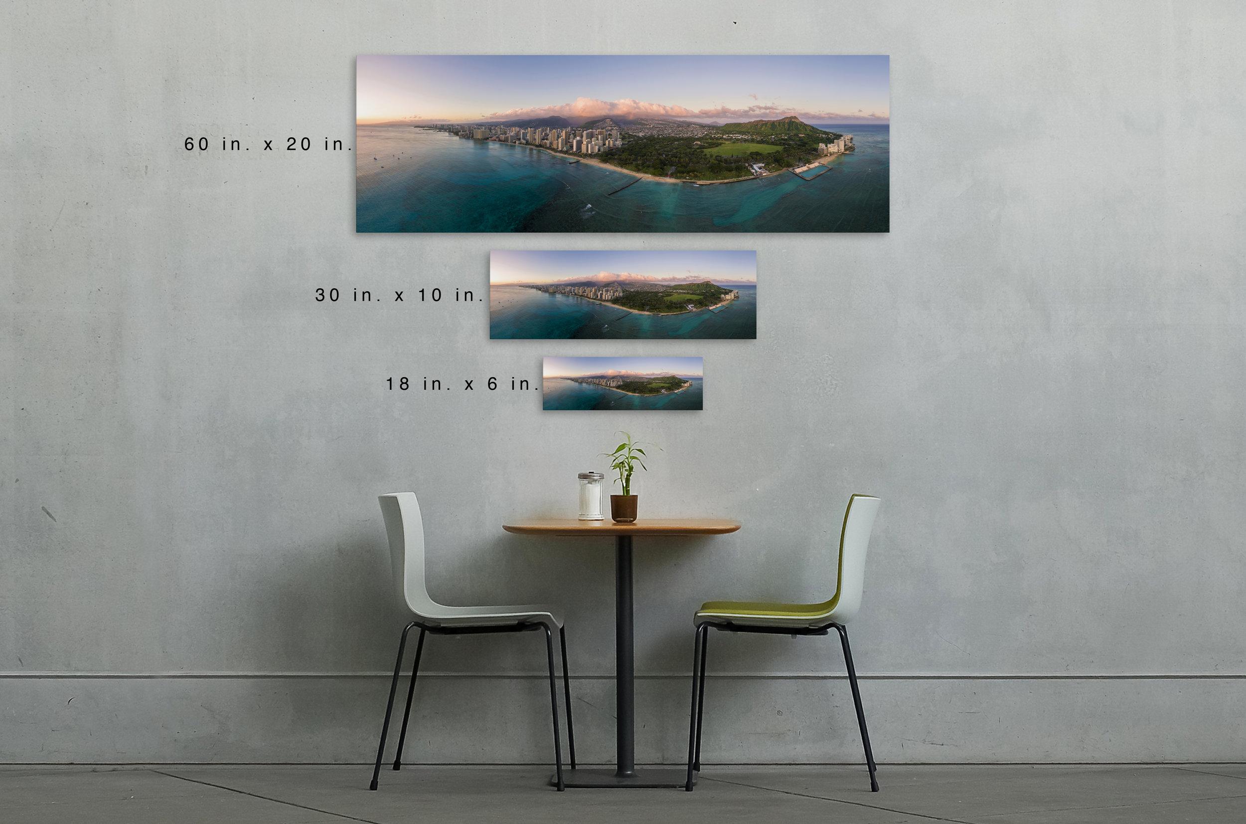 Panoramic Sizes