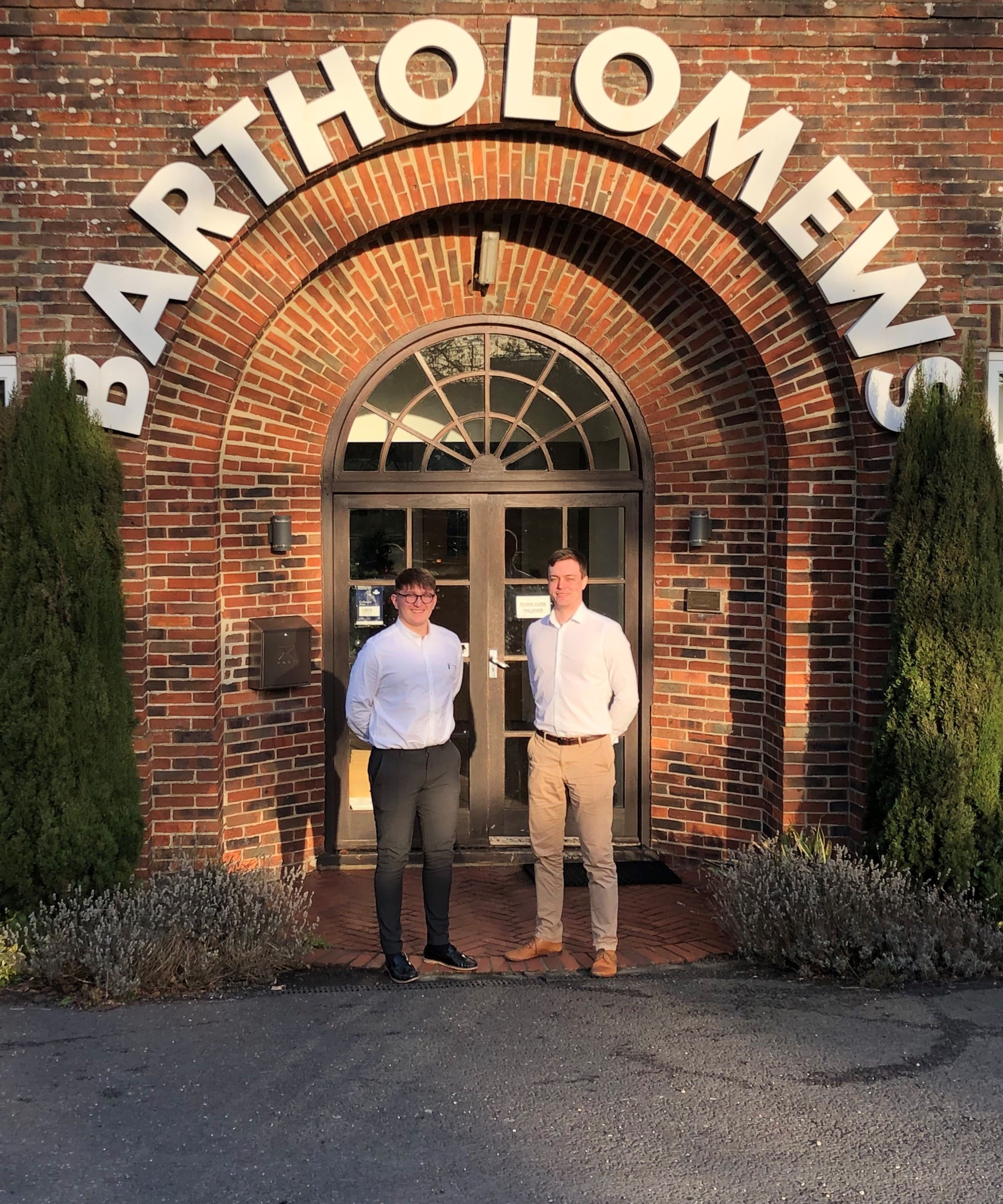 Morgan Shepherd (Left) and Tom McHarg (Right)