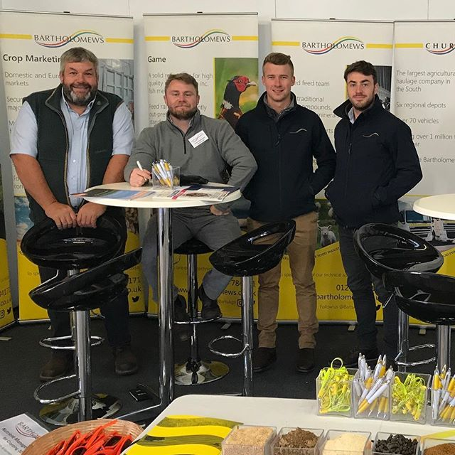 Meet the team at the @royalbathandwest show today! We're in the Exmoor hall, so come along and say hello! #dairy #farming #bartsagri #bartholomews #agronomy #feed