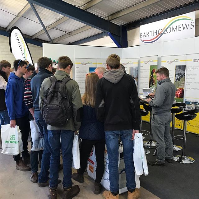 Thank you to everybody who came to see us @royalbathandwest dairy show yesterday! A great day helping farmers optimise yields and educating students on agricultural innovations! #bartsagri #bartholomews #dairy #feed #farming #agriculture