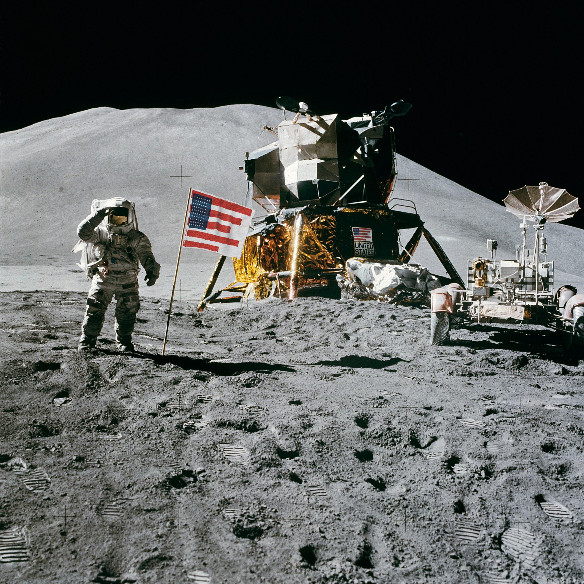 1973 / Apollo 15 moon landing