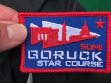 it's not abut the patch , it's about the process of getting the patch...but this patch is only earned.