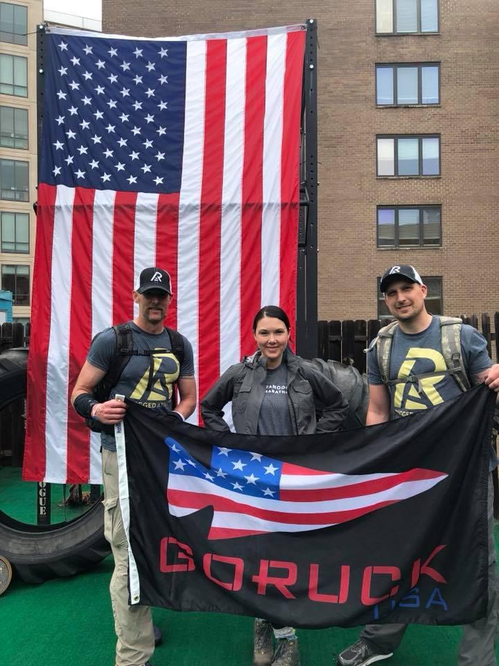 Team Rugged Athlete (Sloane, Nicole, Travis)