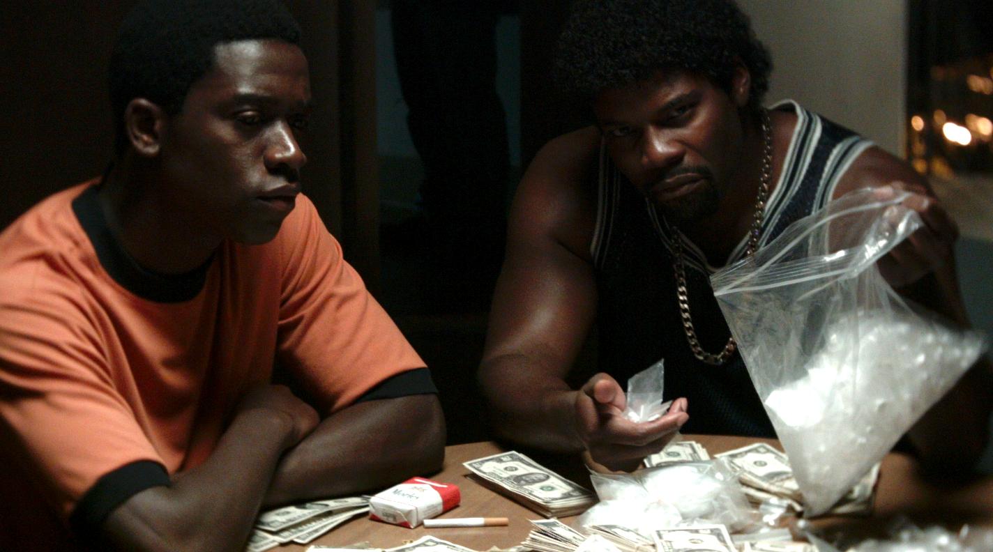 Damson Idris and Amin Joseph stars of the FX series Snowfall