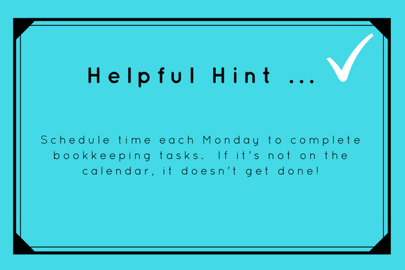 Helpful Hint ... Schedule Time for Bookkeeping Tasks.png