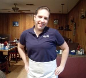 Shipwreck Cafe' Waitress, 2012.