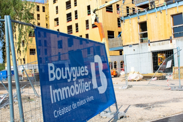 Bouygues Immobilier is excited to get this wooden building ready for tenants to live in. Photo Credit: Talking Forests