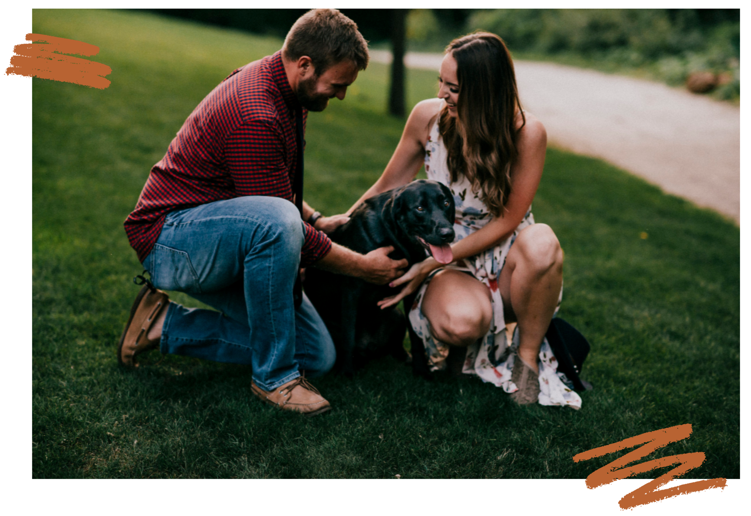 Hi! I'm Jocelyn + this is my hubby Devon and fur babe Finn. - Are you ready to come home to your body? Learn more about my journey here.