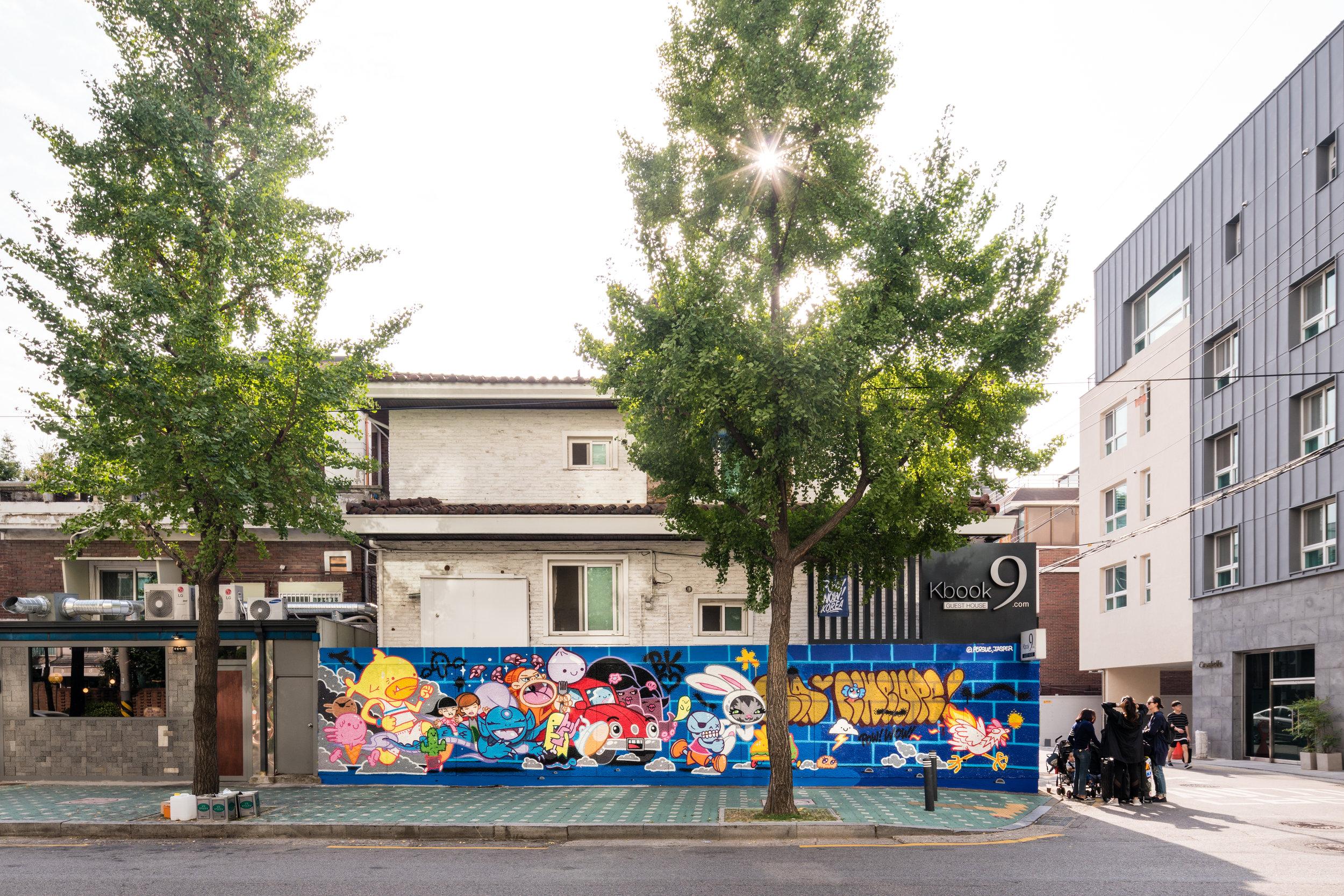 JASPER WONG & PERSUE. 연남동 K9Book Guest House