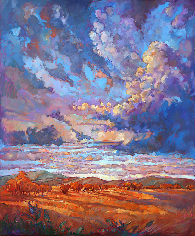 Texan Sky by Erin Hanson