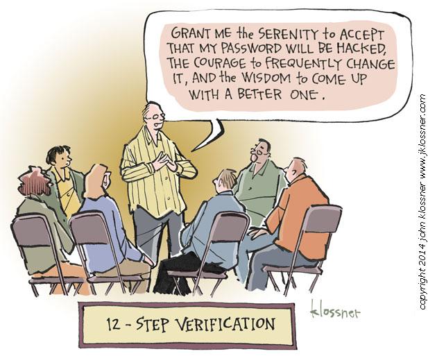 12-step verification
