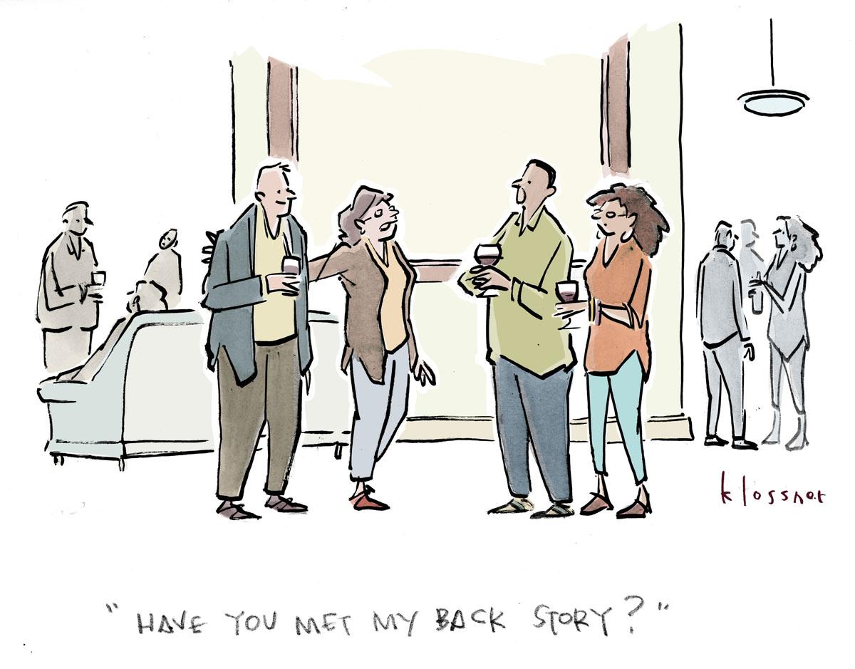A cartoon appearing in  NARRATIVE Magazine (Cartoon Art 2019-04)