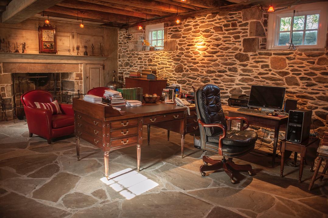 Alan Croft's office.