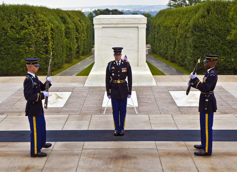 Cochran's Stone Masonry restored the stairs of the Tomb of the Unknown Soldier at Arlington Cemetery.