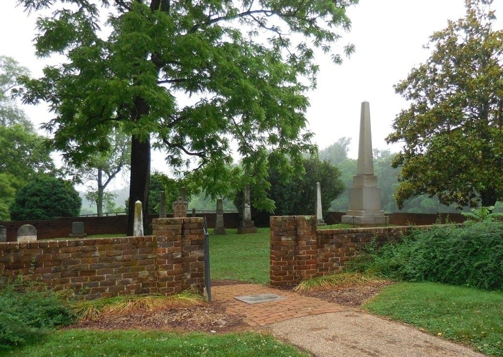 Cochran's restored the brick wall around President James and Dolley Madison's graves at their Montpelier estate.