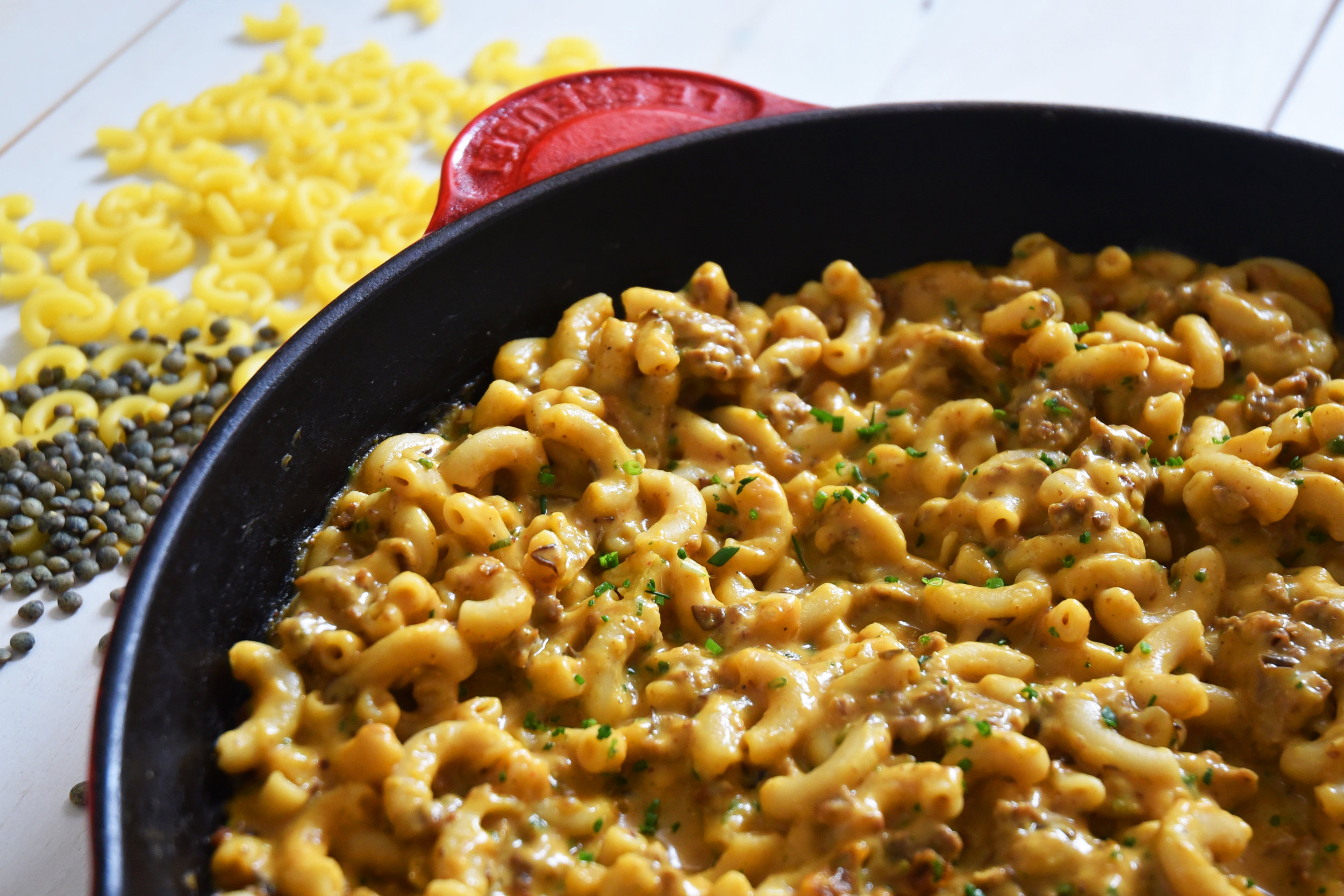 Hamburger Helper with Squash + Lentils Healthy