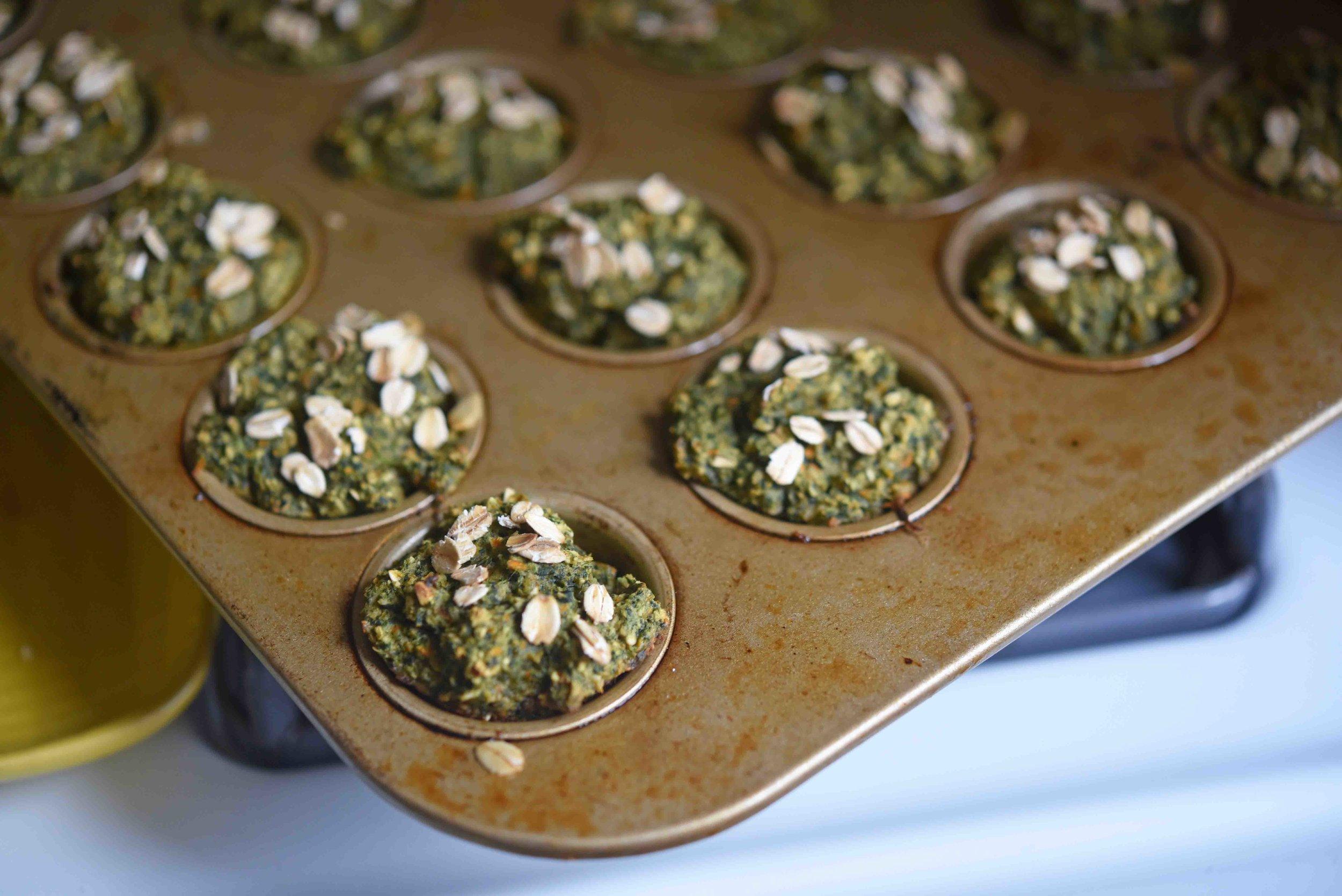 Banana Carrot Spinach Oat Muffins 7.jpg