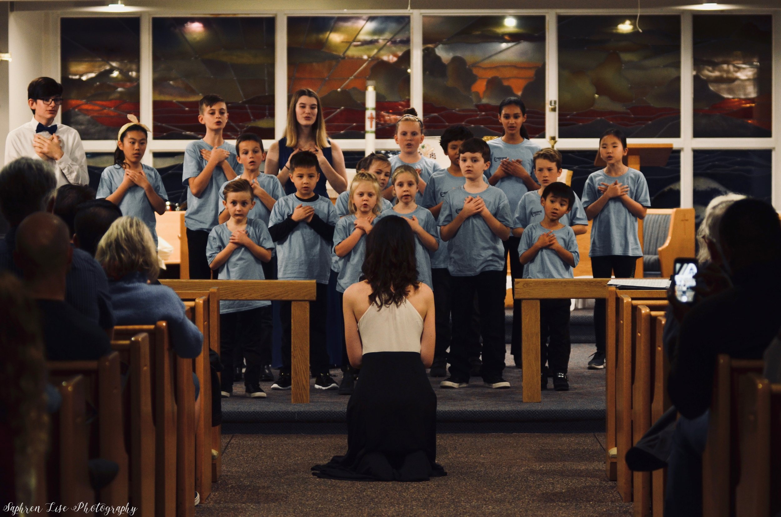 Lux Children's Choir - For Grades 3–8. Read more about the ensemble here! Sign up for the 2019/2020 season.