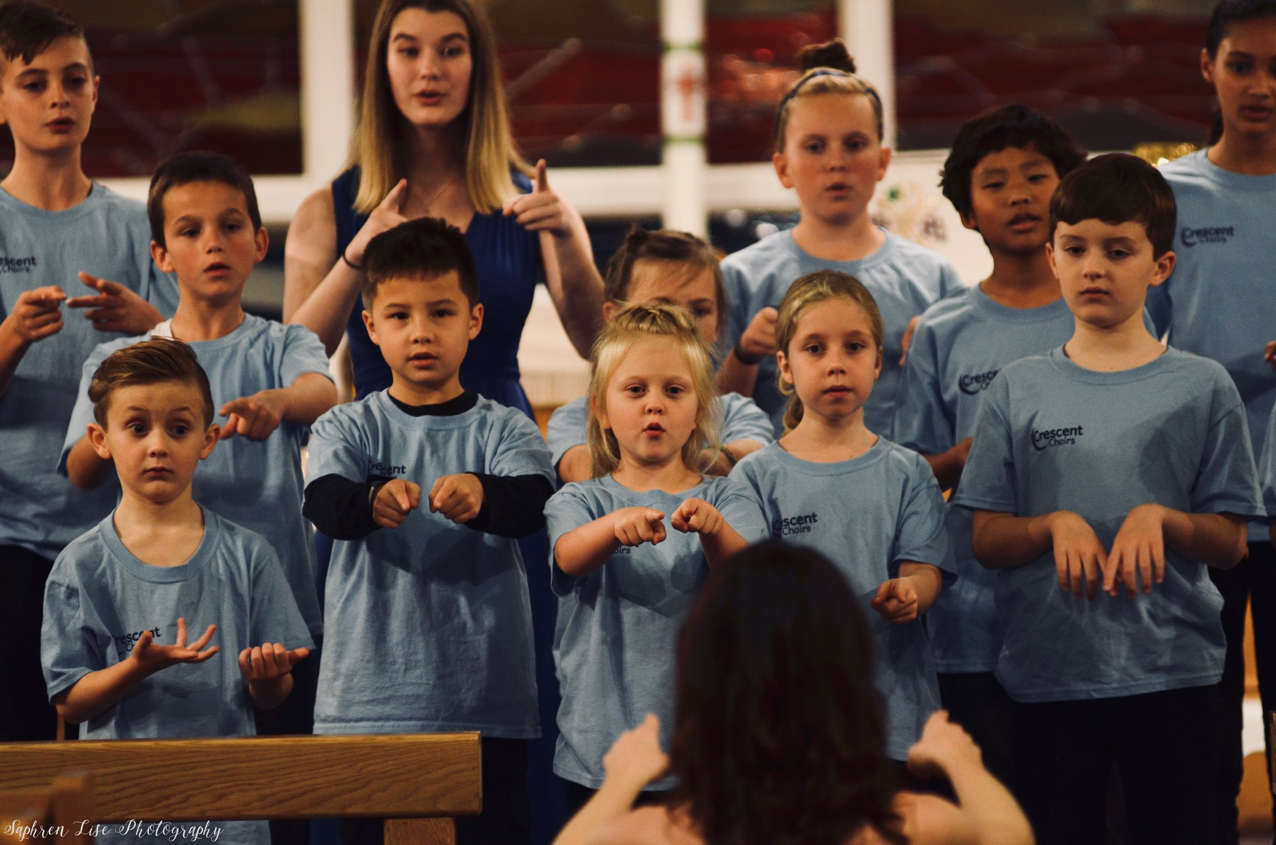 Angeli Children's Choir - For Kindergarten - Grade 2. Read more about the ensemble here! Sign up for our three exciting sessions in the 2019/2020 season.