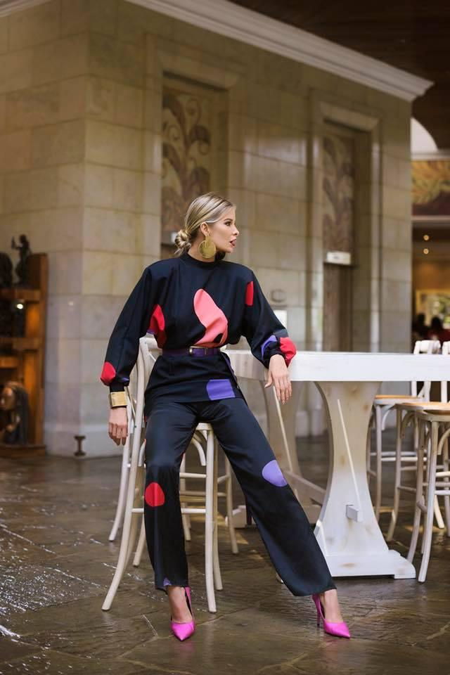 Leonora Jimenez - Dress Marie / Gia pant / belt